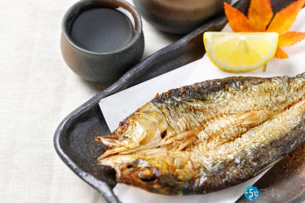日本酒と魚料理