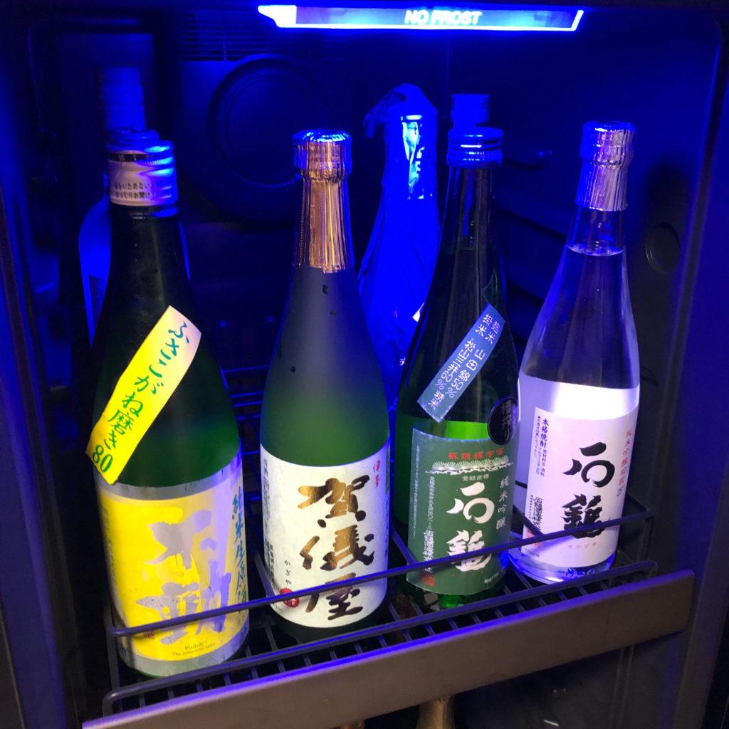 日本酒の保管イメージ