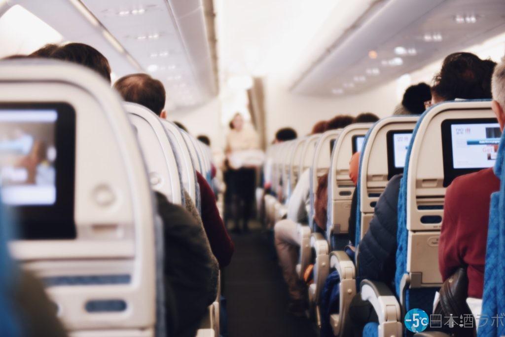 飛行機の機内サービス