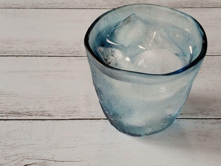 日本酒 水割り 氷