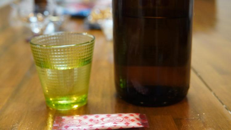 日本酒ジュレ