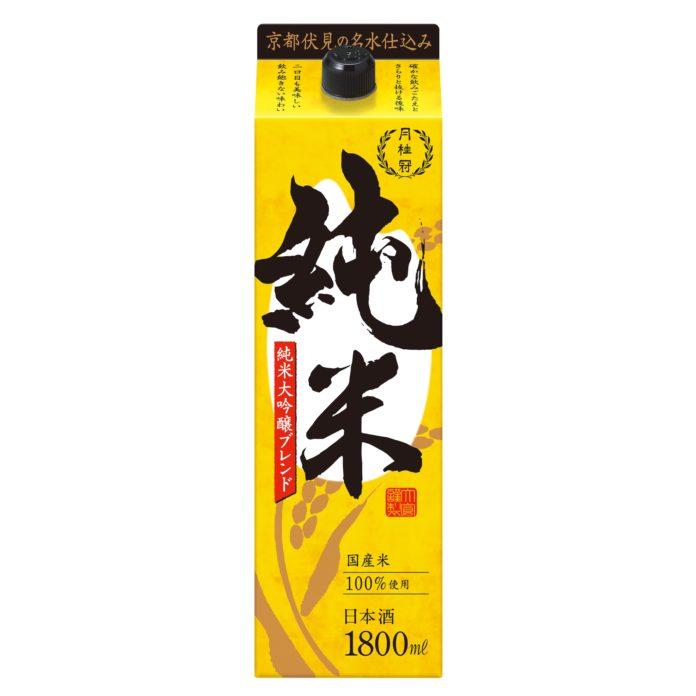 純米大吟醸をブレンド 月桂冠「純米」を新発売