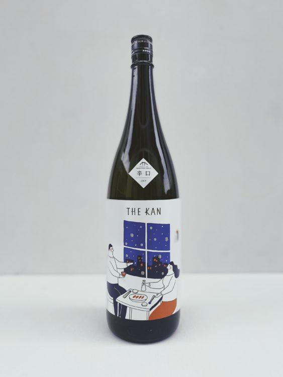 珈琲を淹れる様に楽しめる日本酒「THE KAN」が昨年好評の辛口仕様で登場。山の壽酒造が提案する冬の夜を楽しめる熱燗にも適した日本酒。