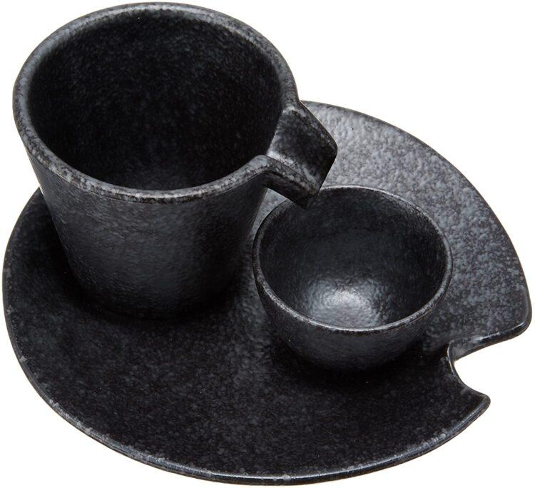 エールネット(Ale net)しずる冷酒器 盃 受皿 陶磁器3点セット