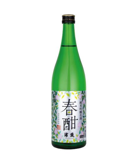 浦霞 純米吟醸生酒 春酣(はるたけなわ)