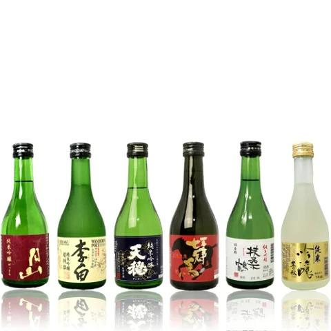 島根 地酒 おすすめ純米吟醸酒 飲み比べセット 300ml×6本