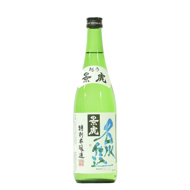 越乃景虎 特別本醸造 名水仕込