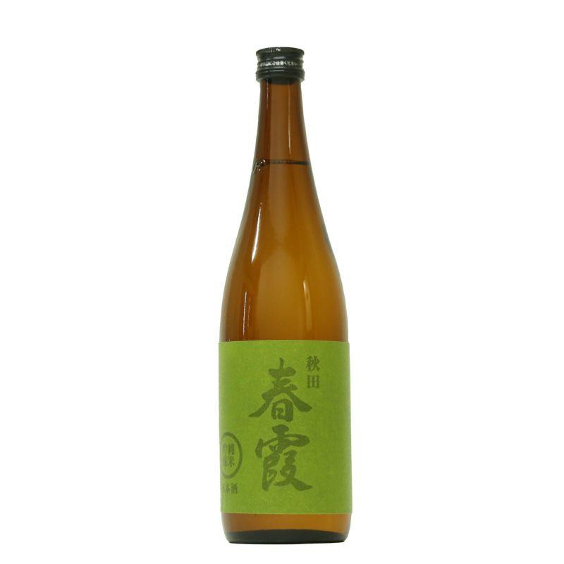 春霞 純米吟醸 緑ラベル 美郷錦