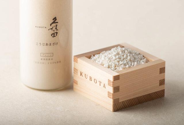 【KUBOTAYA】とろ~りすっきり!新商品「久保田 こうじあまざけ」の味わいやアレンジレシピ、開発者インタビューも