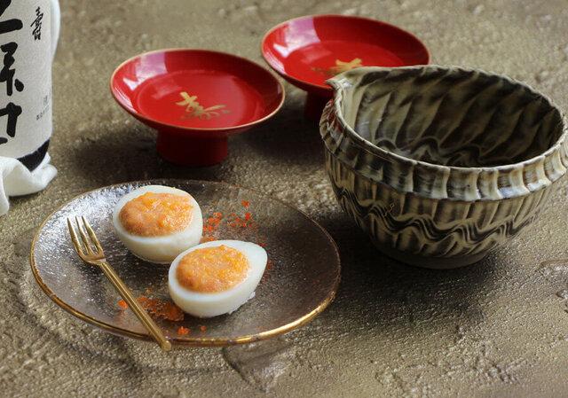 高橋善郎さん考案のたまごの卵のせ