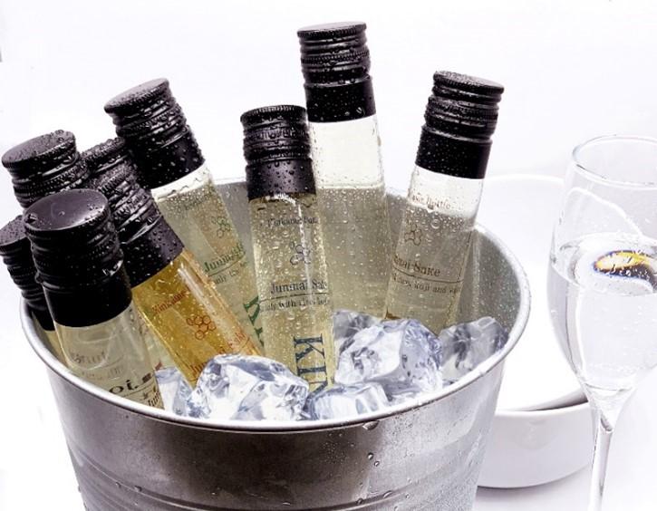 """家飲み""""や""""オンライン飲み""""需要に合わせた、飲み切りサイズの新しい日本酒 「精米歩合の変化を楽しむ日本酒 100ml飲み比べセット」を開発"""