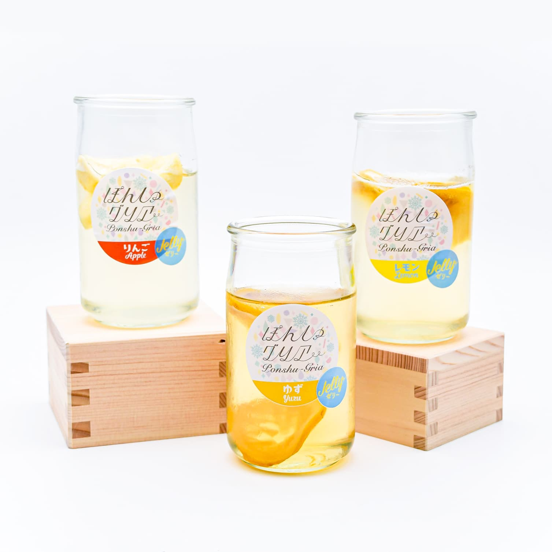 自分で作る日本酒ゼリーの素!?好きなお酒で簡単にフルーツ入りの日本酒スイーツが出来上がり。『ぽんしゅグリアゼリー』新発売