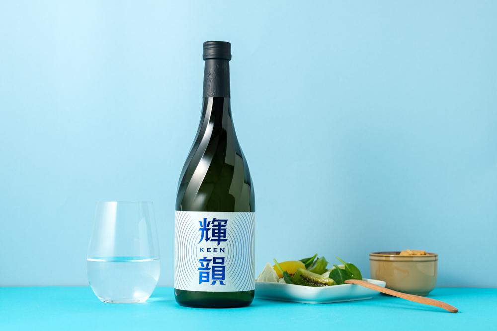 キーンと空を飛ぶ飛行機のようなまっすぐ美しいキレと余韻の純米大吟醸酒「輝韻-keen-」販売開始