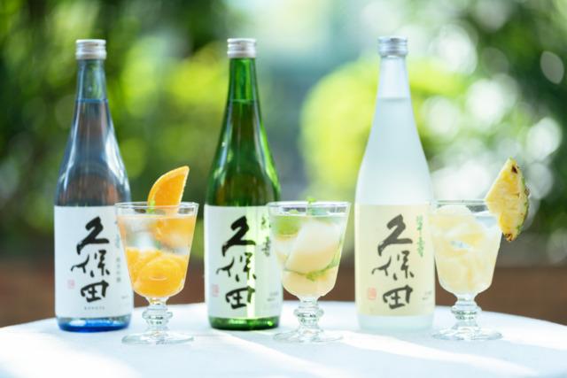 【KUBOTAYA】フルーツ缶×日本酒で簡単おいしいカクテルを3種類作ってみた!