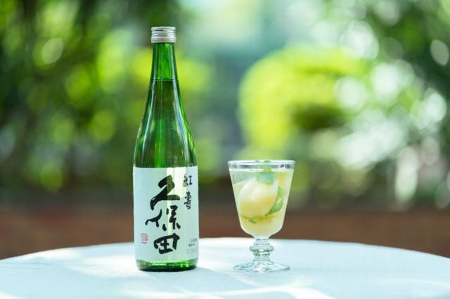 桃缶×「久保田 紅寿」のカクテル