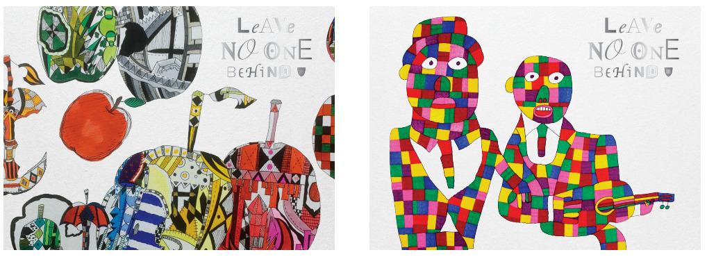 アーティストが生み出す「芸術」と蔵人が造り出す「酒」が融合。やまなみ工房×楯の川酒造「Leave No One Behind」10/12いよいよ販売開始